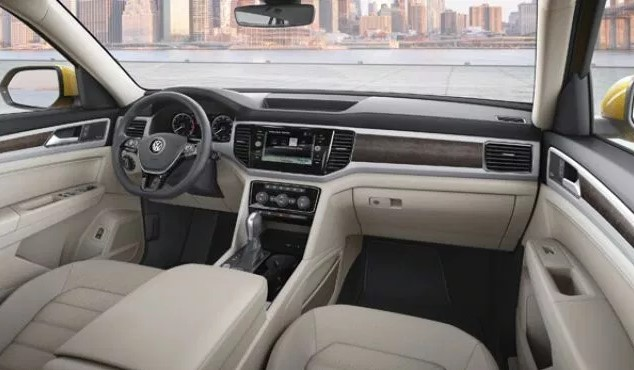 2021 Volkswagen Atlas Interior