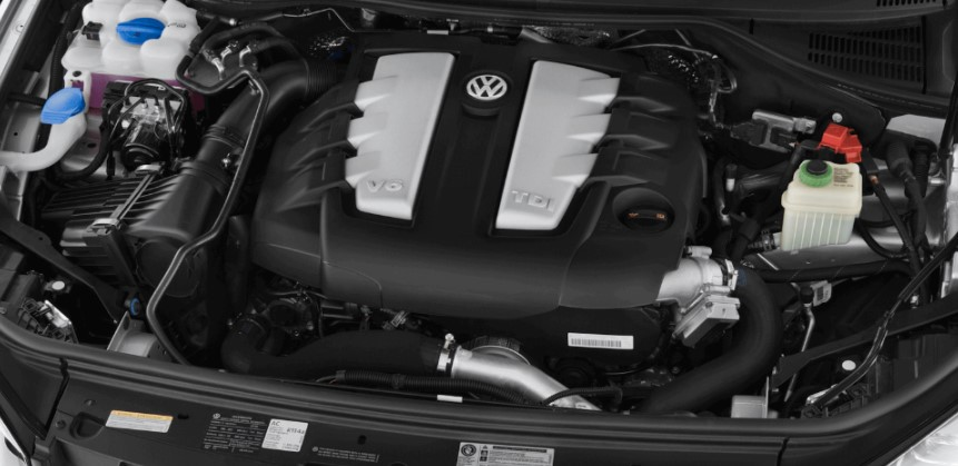2021 VW Touareg Engine