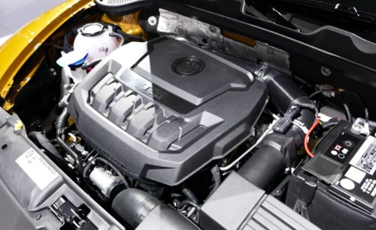 2021 VW Beetle Engine