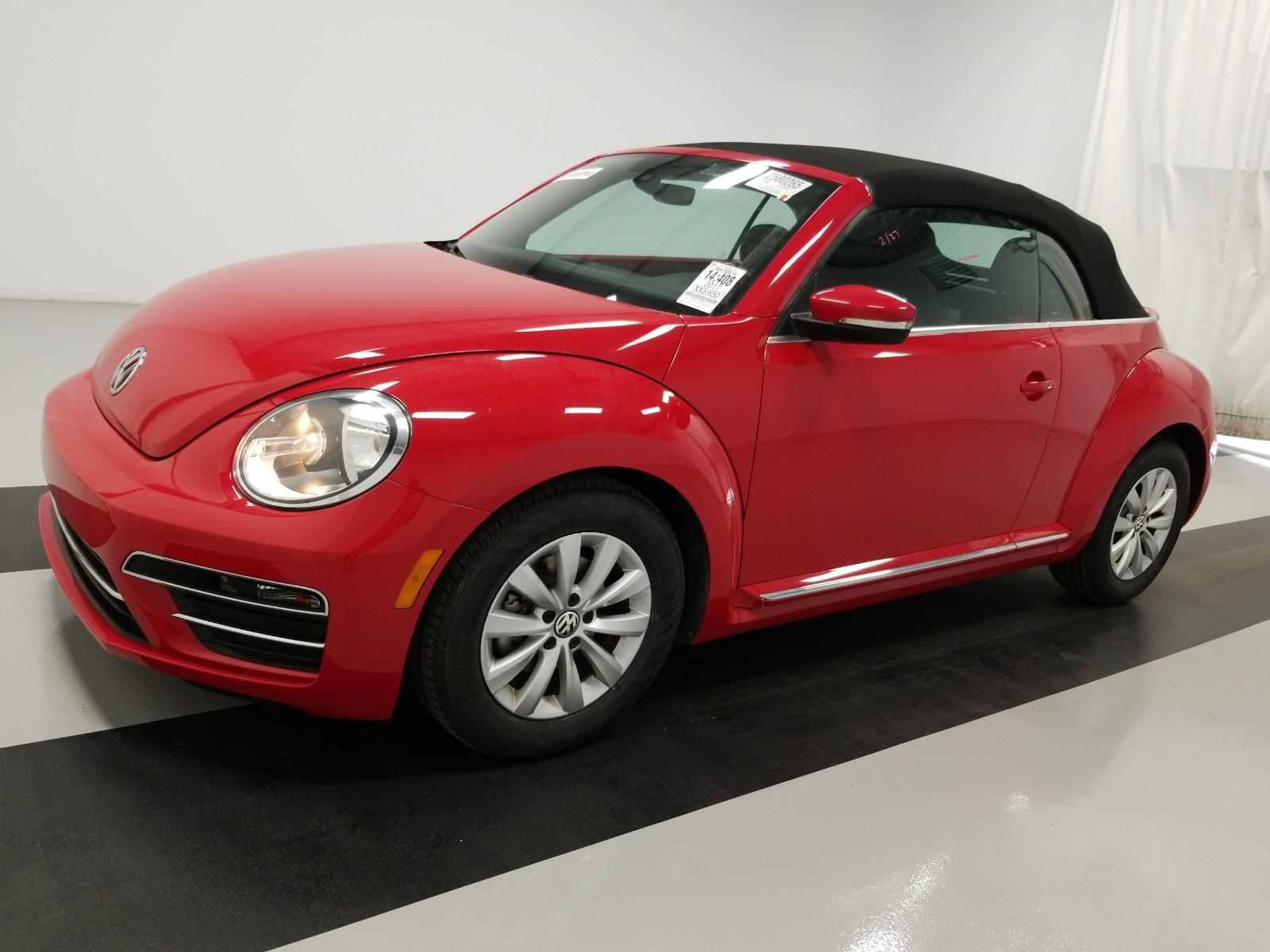 how much is a 2022 volkswagen beetle convertible  2021